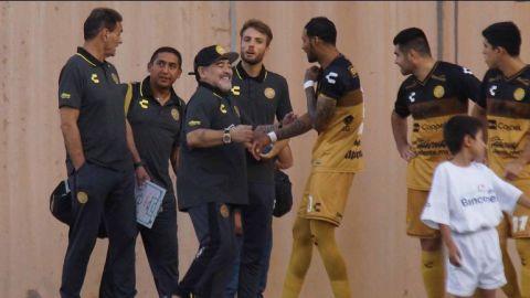 Maradona sufre su primera derrota en el futbol mexicano