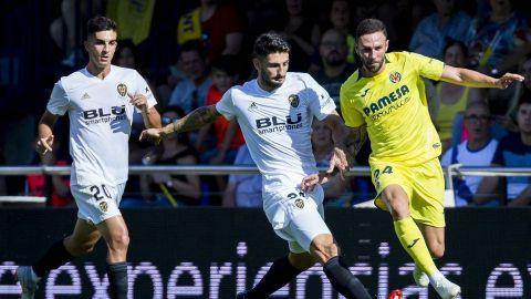 Villarreal y Valencia dividieron puntos