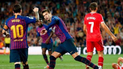 Barça empata ante Girona