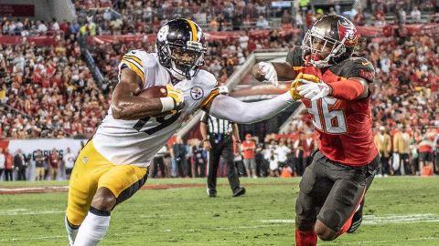 Roethlisberger brilla y Steelers vencen 30-27 a Buccaneers