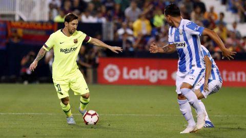 Dos minutos de desconcierto hunden al Barcelona ante el Leganés