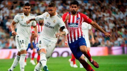 """El derbi entre el Real Madrid y el """"Atleti"""" termina sin goles"""