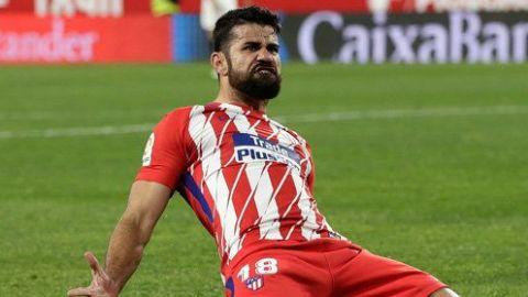 Diego Costa es baja con Atlético de Madrid por una lesión