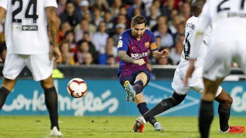 Barcelona ligó cuatro partidos sin ganar en Liga