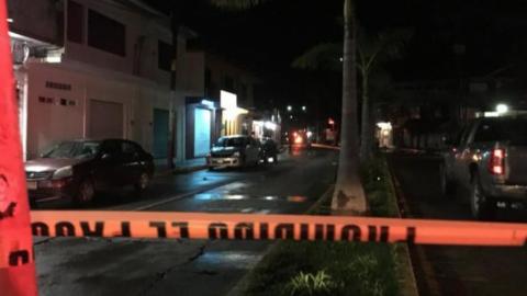 Lanzan cuatro granadas en dos bares de Oaxaca; hay seis heridos