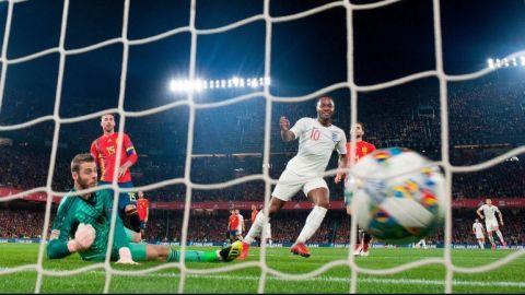 Inglaterra derrota a España en Liga de Naciones