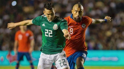 México enfrentó a Chile y cayó 1-0 en La Corregidora en duelo amistoso
