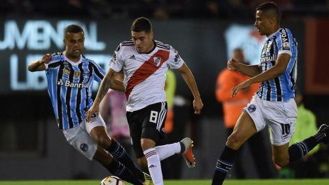 Gremio vence 1-0 a River en ida de semifinal de Libertadores