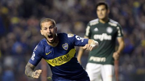 Boca vence 2-0 a Palmeiras en ida de semis de Libertadores