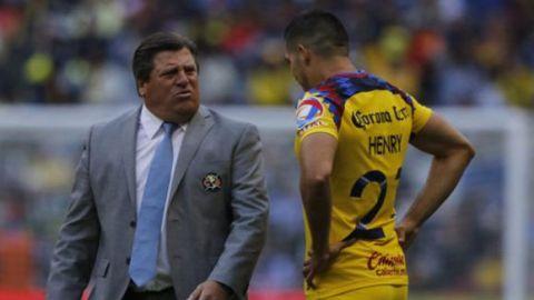 Henry va de titular ante Toluca: Miguel Herrera