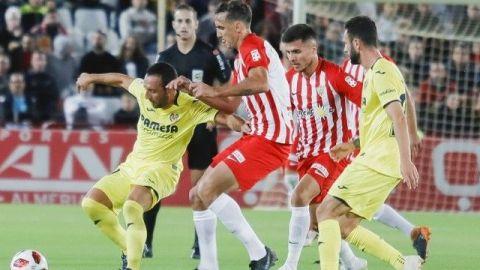 Villarreal igualó con Almería en Copa del Rey