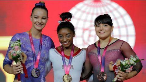 Alexa Moreno da a México su primera medalla en mundial de gimnasia