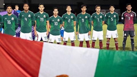México debutó con goleada en Premundial Sub 20