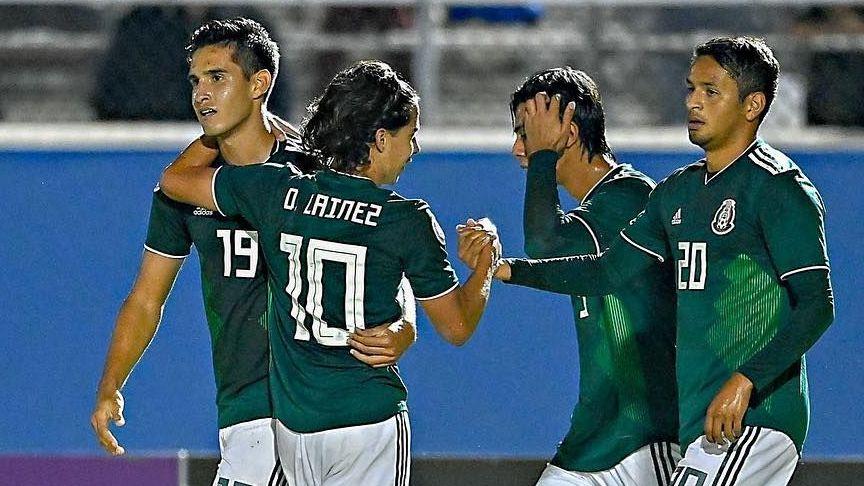 México Sub-20 se complica la vida en el Premundial ante Jamaica f30f968a82b5b