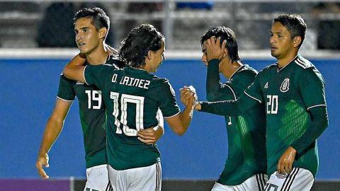 México Sub-20 se complica la vida en el Premundial ante Jamaica