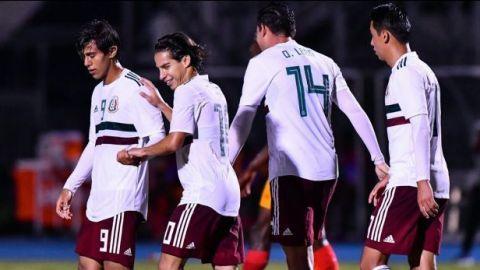 El Tri golea a Granada en el Premundial Sub-20