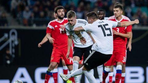 Alemania pasa por encima de Rusia