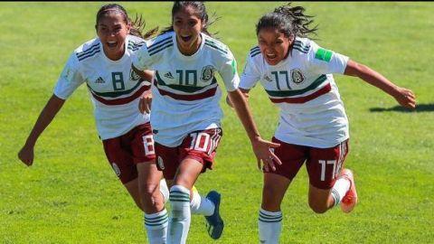 Tri femenil Sub-17 avanza a cuartos de final del Mundial