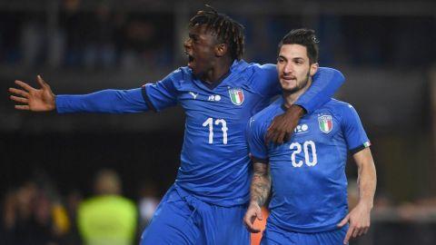 Italia derrota a Estados Unidos de último minuto