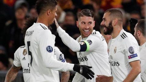 Real Madrid está en Octavos y casi amarró liderato