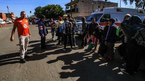 Entrega permisos de estadía a migrantes centroamericano en BC