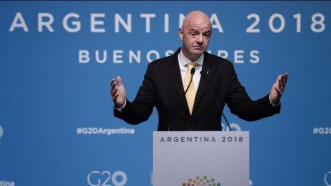 La FIFA defiende final de Libertadores en Madrid, pero River la impugna