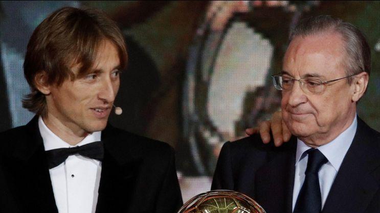 4b08b425b7d Modric es el mejor dentro y fuera del campo  Florentino Pérez