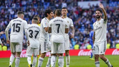 Dobletes de Isco y Asensio en goleada del Madrid