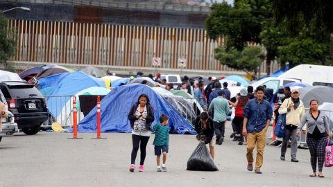 Piden integrantes de la caravana 50 mil dólares para regresar a su país