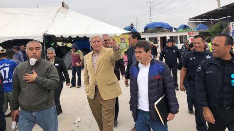 Atiende coordinador federal temas de seguridad en Tijuana
