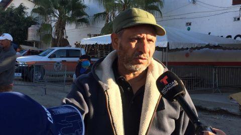 """""""Nuestro caminar no tiene precio a EU"""", dice el hondureño Alfonso Ulloa"""