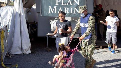 Unicef México pide proteger imagen de los niños de la caravana migrante