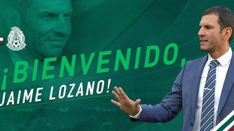 Jaime Lozano dirigirá la selección olímpica