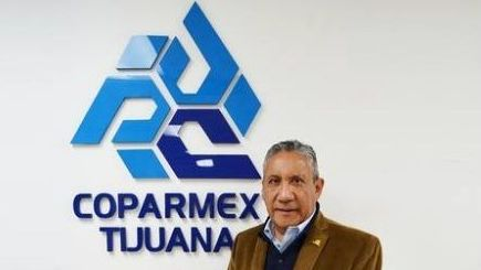 Roberto Rosas, nuevo presidente de Coparmex Tijuana
