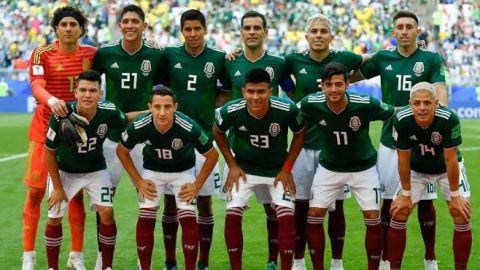 México cierra el 2018 como el mejor equipo de la Concacaf en el ranking FIFA
