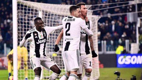Juventus vence a la Roma en duelo cerrado