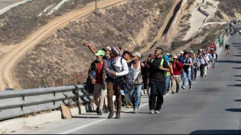 Alrededor de 4 mil centroamericanos permanecen en BC