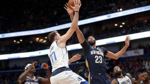 Con 48 puntos de Davis, Pelicans dan cuenta de Mavs