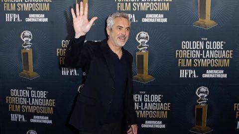 """Alfonso Cuarón gana el trofeo al mejor director por """"Roma"""""""