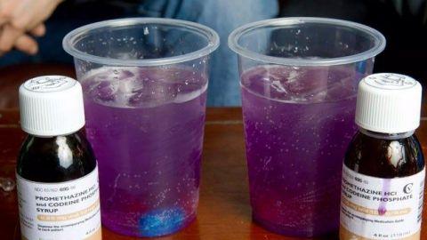 """""""Purple drank"""", la droga casera que están consumiendo en México"""