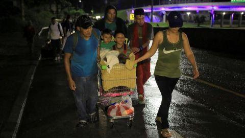 Capturan a supuesto organizador de la nueva caravana de migrantes hondureños
