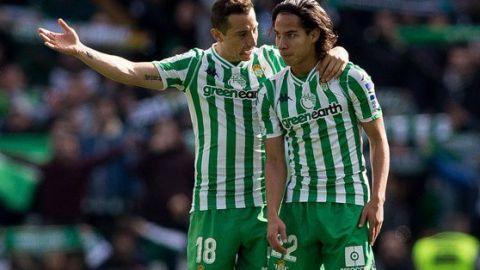 Lainez y Guardado, convocados por el Betis para los Cuartos de la Copa del Rey