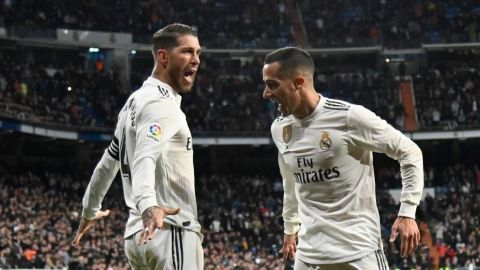 Real Madrid gana la ida ante el Girona en cuartos