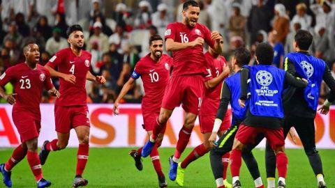 Qatar a la final de la Copa Asia