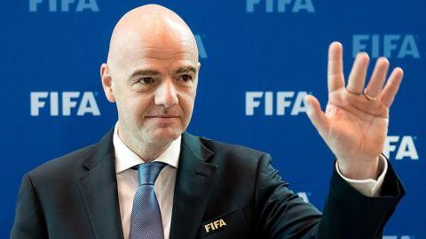 CONCACAF apoya reelección de Infantino