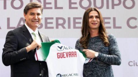Charros es abanderado por Ana Guevara
