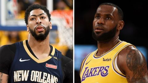 Lakers mejoran oferta por Anthony Davis