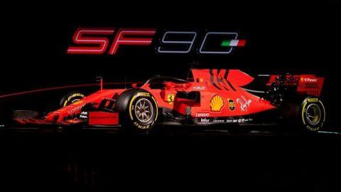 Ferrari presenta el SF90, nuevo monoplaza de Vettel y Leclerc