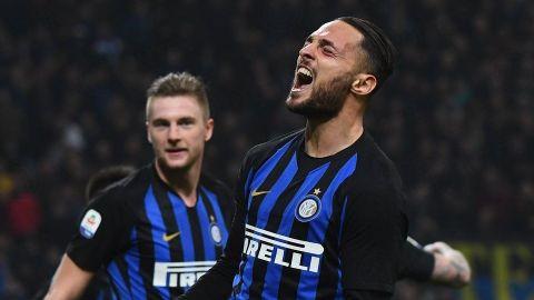 Con Icardi en la tribuna, Inter se impone 2-1 a Sampdoria