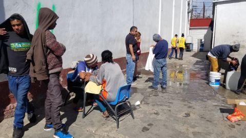 Llegan migrantes centroamericanos a Mexicali